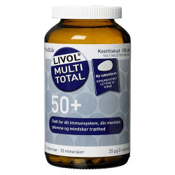 Livol Multi Total 50+ (150 stk)