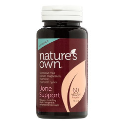 Nature's Own Bone Support Wholefood (60 kaps.)