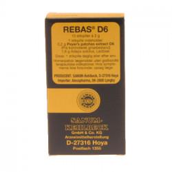 Rebas D6 stikpiller (10 stk)