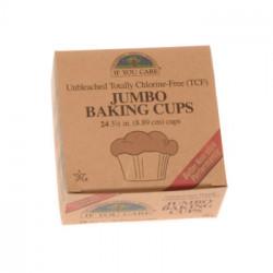 Baking Cups Jumpo 100% Nedbrydelig (24 Stk)