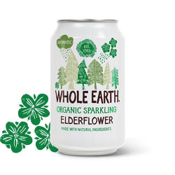 Whole Earth Hyldeblomst sodavand Ø (330 ml)