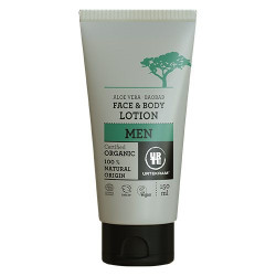 Urtekram MEN Face & Bodylotion Aloe Vera & Baobab (150 ml.)