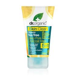 Dr. Organic Organic tea tree deep pore charcoal mask Skin Clear