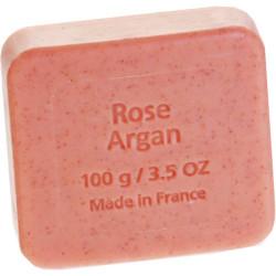 Naturkost sæbe m. rose og arganolie Ø (100 g)