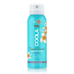 Coola Body Spray Tropicial Coconut SPF30 (rejsestr)