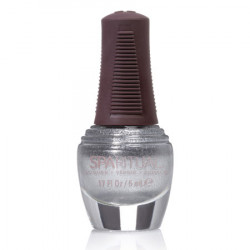 Sparituals Neglelak Mini Sølv M. Perlemor 88389 (5 ml)