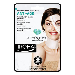 Iroha Face & neck anti-age mask collagen (30 ml)