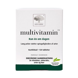 New Nordic Multivitamin (120 tab)