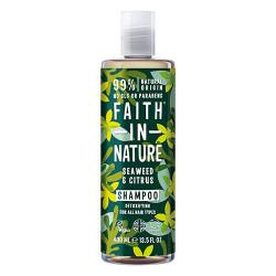 Faith in Nature Shampoo Alge & Citrus (400 ml)