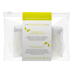 The Konjac Sponge Eye Cleansing Pads (8 stk)