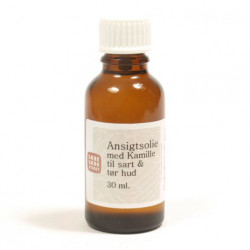 Ansigtsolie m. Kamille (30 ml)