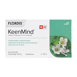 Flordis KeenMind (60 kap)
