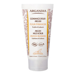 Argandia Argan Mild Scrub, Orange Blossom (75 ml)