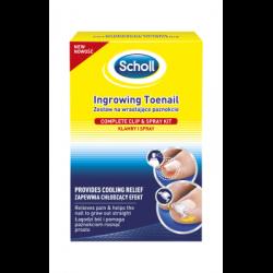 Scholl nedgroede tånegle (22ml+8g)