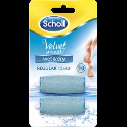 Scholl velvet wet&dry refill (2 stk.)