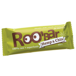 Roo'Bar Hemp & Chia Ø (30 gr)