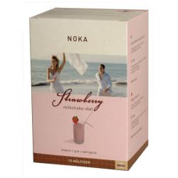 NOKA Milkshake Jordbær  Diæt - 15 måltider (525 g)