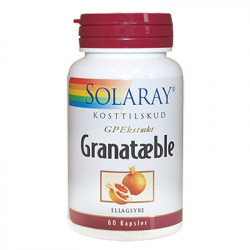 Solaray Granatæble (60 kapsler)
