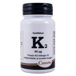 Camette K2 Vitamin 45 mcg (180 tab)