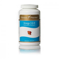 Fitness Pharma omega 3-6-9 med A, D, E og K vitamin (180 stk)