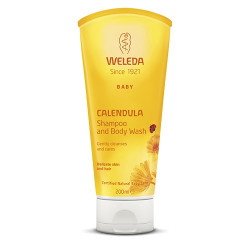 Weleda Calendula Shampoo & Body Wash (200 ml)