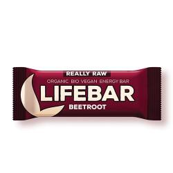 Lifefood LifeBar Rødbede RAW Ø (47 g)
