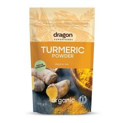Gurkemeje pulver Ø - Dragon Foods (150 g)