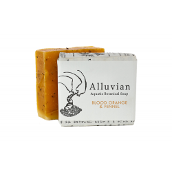 Alluvian Blood Orange & Fennel Aquatic Botanical Bar Soap (99 g)