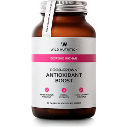 Wild Nutrition FOOD-GROWN® Antioxidant Boost (60 kaps)