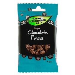 Nature Source Chocolate Favas m. Rå Chokolade (40 g)