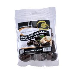 Cashewnødder m. mørk stevia chokolade (90 g)