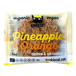 Kookie Cat Pineapple orange Ø (50 g.)