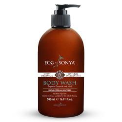 Køb Eco By Sonya Body Wash m. Mint og Kokos - 500 ml | Gratis Fragt | Helsebixen
