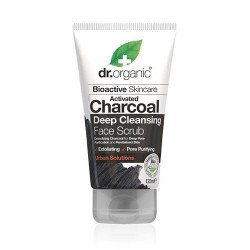 Dr. Organic Face Scrub Charcoal Deep  Cleansing