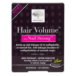 New Nordic Hair Volume + Nails Strong (60 tab)