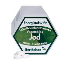 Berthelsen Jod 225 mcg (180 tabletter)