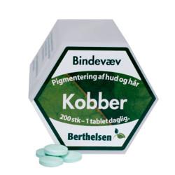 Berthelsen Kobber 2 mg (200 tabletter)