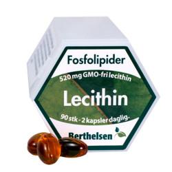 Berthelsen Lecithin (90 kapsler)