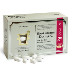 Bio-Calcium+D3+K (150 tabletter)