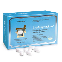 Bio-Magnesium 200 mg (120 tabletter)