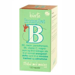 Biorto Komplet B (120 kapsler)