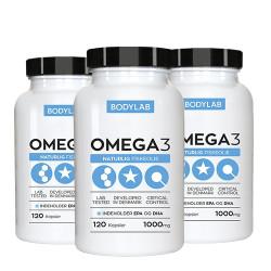 Bodylab Omega-3 Fiskeolie (3 x 120 stk)