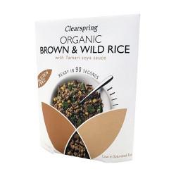 Brune vilde ris m. tamari Ø 250 g