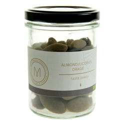 Mols Organic Dragé almond/licorice Ø (100 g)