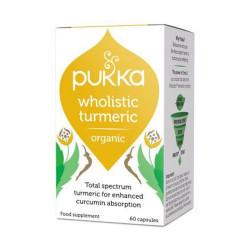 Pukka Turmeric gurkemeje Ø (60 kap)