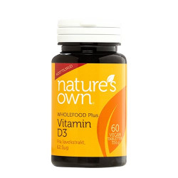 Nature's Own Vitamin D3 (60 kaps.)