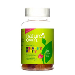 Nature's Own Multivitaminer Nature's Bears (90 stk.)