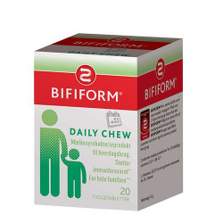Bifiform daily chews (20 tab)