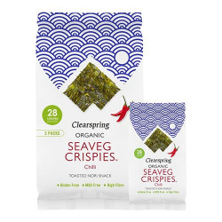 NatureSource - Seaveg Crispies Tang Chips Chili Ø - Multipack (3x5g)