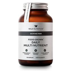 Wild Nutrition FOOD-GROWN® Daily Multi Nutrient (60 kaps)